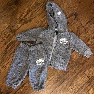 Baby Roots Sweatpants and Sweatshirt